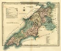 Caenarvonshire 1808 Welsh County Roper lovely engraved map