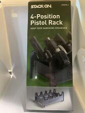 Stack-On Gun Safe Four Position Handgun Pistol Rack SPAPR-4 ABS Material