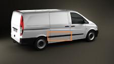 Mercedes-Benz Vito W639 Right Sliding Door Side Molding Trim A63969011627G99 oem