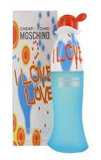 Moschino Cheap & Chic I Love Love 100ml Eau De Toilette Spray New & Sealed Box