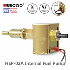 Electric Fuel Pump 12V Standard Universal Metal for Petrol Diesel 2.5-4PSI EP12S