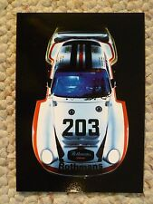 1986 Porsche 961 Factory issued Post Card Postcard Collector Card RARE!! Awesome