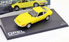 Opel Gt Año Fabricación 1968 Amarillo 1:43 Ixo Altaya