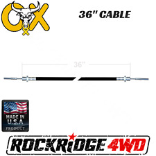 """36"""" OX LOCKER CABLE ASSEMBLY W/ JAMB NUT FOR ELECTRIC ACTUATOR JEEP TRUCK 4X4"""