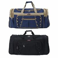 "Men's Large 26"" Gym Sports Travel Bag Tote Handbag Shoulder Carry Duffle Luggage"