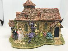 Lilliput Lane L2926 Wedding Ring Church antique collectible house