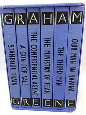 Graham Greene Folio Society The Complete Entertainments 6 Volume Slipcase 1996