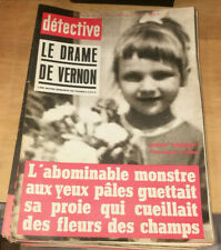Crimes Magazine Detective No 1141 9 5 1968 The Drama Of Vernon Cathy Tardieu