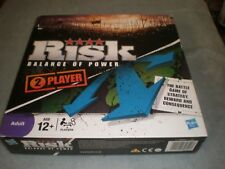 Risk: Balance of Power - Board Game - 2 Player - Hasbro - 100% Complete