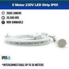 XE PRO 230V LED Strip Lighting Light IP65 3000K + 4000K + BLUE  High Brightness