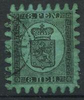 Finnland 1866 Mi. 5 Gestempelt 100% 8P, Wappen