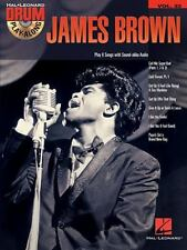 James Brown: Drum Play-Along Volume 33 by James Brown (English) Paperback Book
