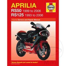 APRILIA RS 125 Extrema/Réplica 2001 Haynes Manual de reparación de servicio 4298