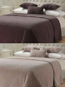 SWEET  DREAMS  Luxurious 100 %  Cotton Velvet  Bed  Throw