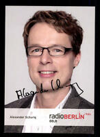 Alexander Schurig RBB Autogrammkarte Original Signiert # BC 40626