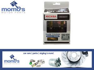 Michiba HB3 12v 65w 3000K Gold Vision Bulbs (Yellow)