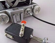 Alter Selbstauslöser mit Drahtauslöser / vintage selftimer + cable
