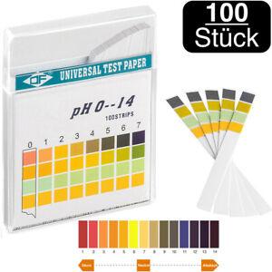 pH Wert Teststreifen Tester Pool Wasser Teich Garten Haushalt pH messen 1-14 NEU