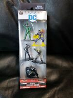 ** DC Diecast Nano Metalfigs - Batman Batgirl Catwoman Black Canary The Riddler