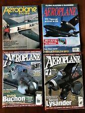 4 Back Issues of Aeroplane Monthly, Quality British Aviation Enthusiast Magazine