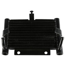 Black Fan Assisted Oil Cooler Fit For Harley Touring Road King Glide FLHX 17-19