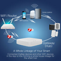 Tuya ZigBee Wireless Smart Gateway Hub APP Controller For Alexa Google Home
