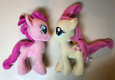 2 My Little Pony Plush Fluttershy & Pinkie Pie