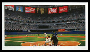 Fulton County Stadium 1995 World Series Atlanta Braves Lithograph Tom Glavine
