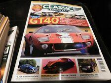 Classic And Sportscar Magazine October 2006, GT40, Aston Martin, Phantom Corsair