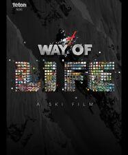 Way of Life DVD & Blu Ray Combo by Teton Gravity TGR Ski Skiing Video Movie Film