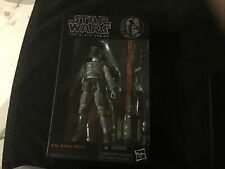 "NOT AUTHENTIC  6"" Hasbro Star Wars The Black Series Boba Fett Action Figure #06"