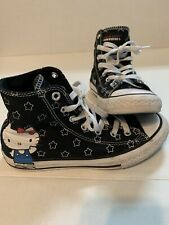 Converse high tops hello kitty Size 3 Youth