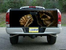 T24 GRIM REAPER CARDS POKER TAILGATE WRAP Vinyl Graphic Decal Sticker Tint Bed