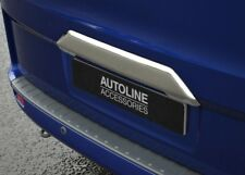 Chrome Rear Tailgate Grab Handle Trim Cover To Fit Ford Transit Custom (2012