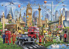 Framed canvas art print giclee London calling attractions culture