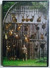 From Field to Freezer - Butchering and Packing DVD - NEW- (eb1)