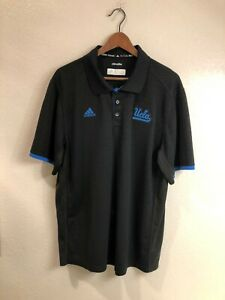 UCLA Bruins authentic Adidas team-issued polo shirt (size: XL)