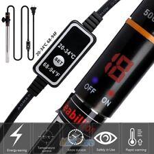 500W Adjustable LED Aquarium Heater Fish Tank Auto Thermostat Water Heater Rod