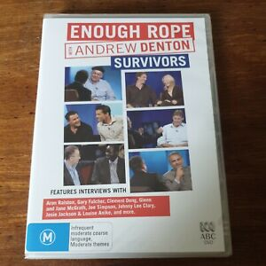 Enough Rope with Andrew Denton Survivors DVD R4 BRAND NEW SEALED! FREE POST