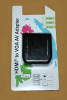 MAPLIN Micro/Mini/Standard HDMI Male to Female VGA Adapter - N58NX - RRP= £49.99