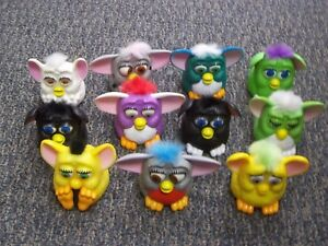 McDonalds Happy Meal Toys  1998 Vintage 11 FURBY'S  (m-162)