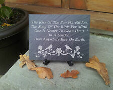 The Kiss Of The Sun For Pardon The Song Of The Birds For Mirth Slate  Plaque WS