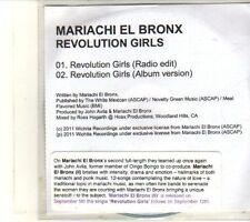 (DT617) Mariachi El Bronx, Revolution Girls - 2011 DJ CD