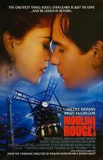Moulin Rouge movie poster print : 11 x 17 inches - Nicole Kidman, Ewan McGregor