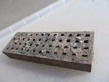 """Antique Iron Grate Grille Vent Ventilation Vintage Old Air Brick  9"""" x 6"""""""