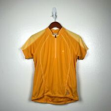 Pearl Izumi Women's Short Sleeve Symphony Cycling Shirt in Yellow Size Large