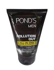 POND s MEN POLLUTION OUT ALL-IN-ONE DEEP CLEANSER with Coffee Bean Scrubs 100g