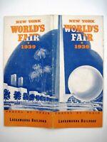 "1939 Travel Brochure ""New York World's Fair"" by ""Lackawanna Railroad"" *"