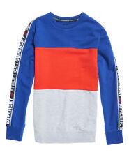 Superdry Hombre Sudadera con panel Stadium Superdry Stadium Cob