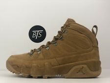 Men s Nike Air Jordan 9 Retro Boot NRG Size-10.5 Wheat Brown (AR4491 700 f5de33de0